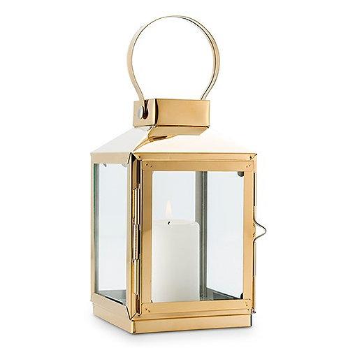 Lanterne décorative - Or (GM)