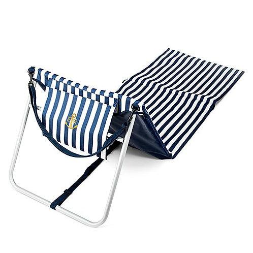 Tapis de plage pliant et chaise longue