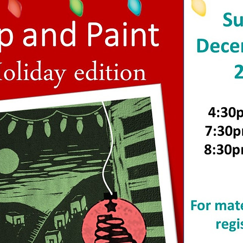 Sip & Paint - Holiday Edition