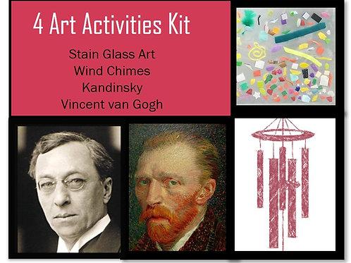 4 Art Activities Kit