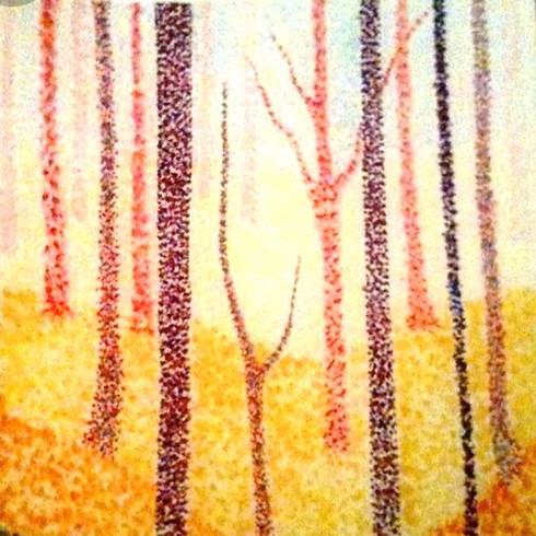 Wine & Paint -Autumn Forest