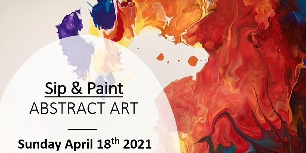 Sip & Paint - Abstract Art