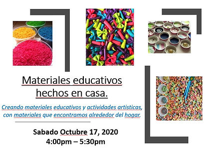 DIY Edu Materials - Oct 17 2020 - FLYER.