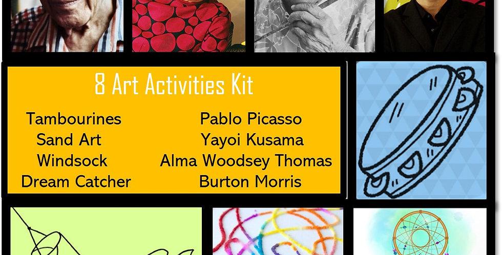 8 Art Activities Kit