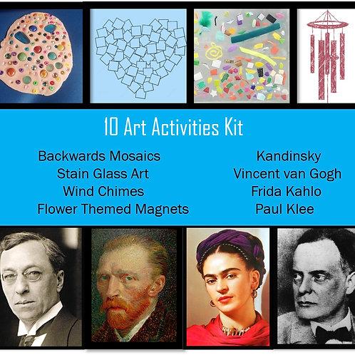 10 Art Activities Kit