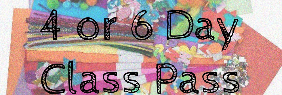 Virtual Class Pass - 4 or 6 Day