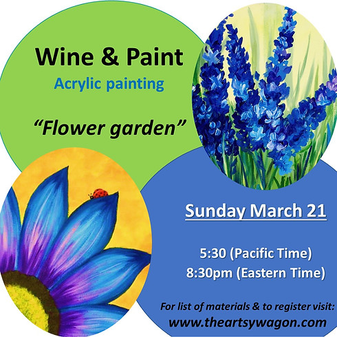 Sip & Paint - Hello Spring!