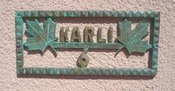 Villa Karli sign