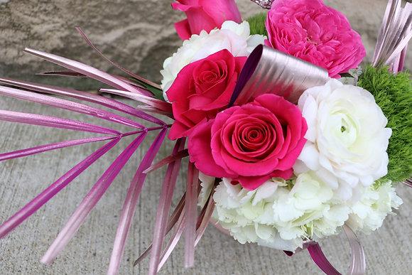 Bold Bokay - Rose Gold / Hot Pink