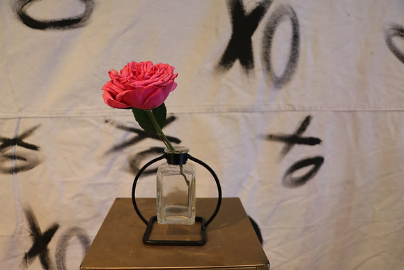 Budvase- Single Rose