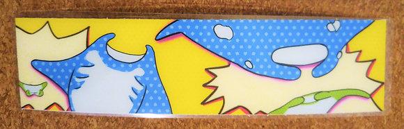 Manta Ray Pop Bookmark
