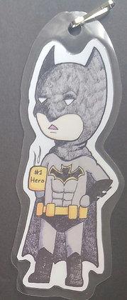 Chibi Batman Paper Keychain