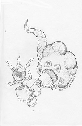 Monster Plant Print