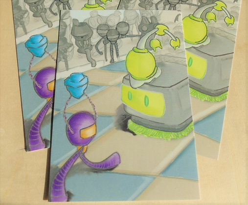 Robot Madness Print