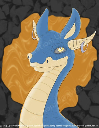 Dragon Portraits Prints
