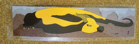 Salamander Dragon Bookmark