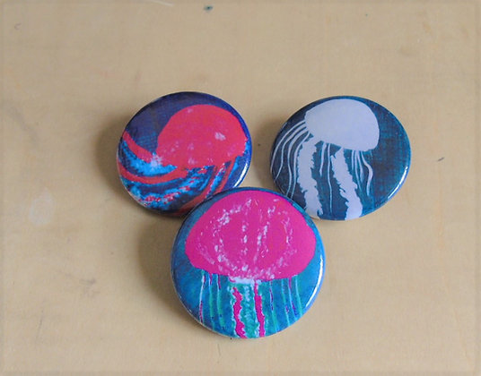Jellyfish Buttons