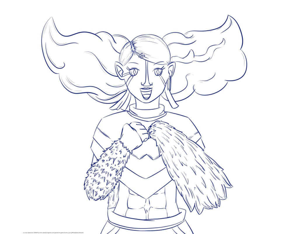 Lineart Example