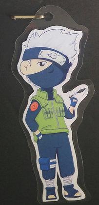 Chibi Kakashi Paper Keychain