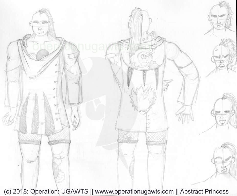 Ginyin Concept Sketches