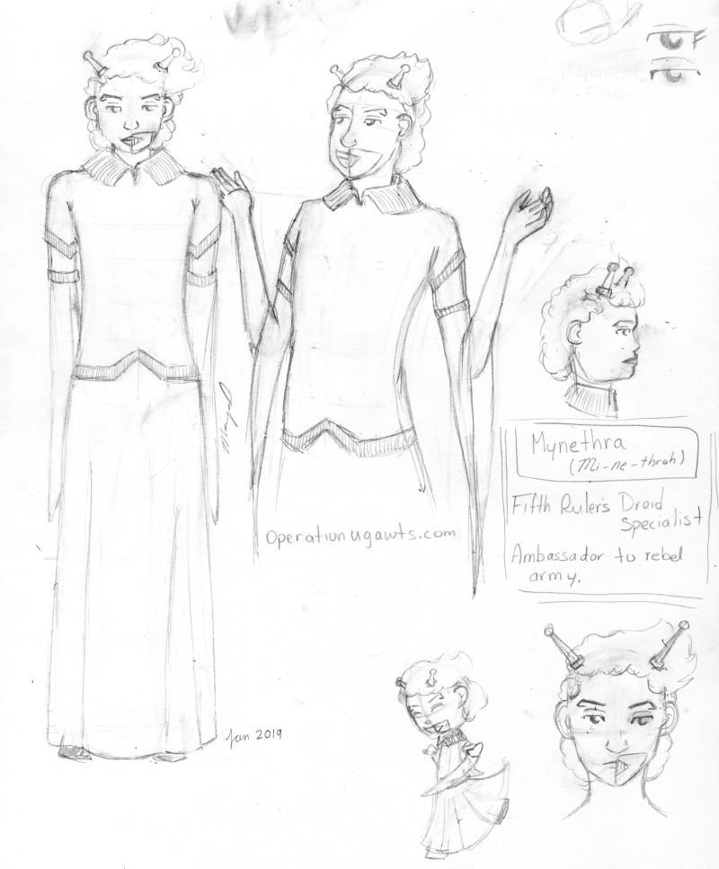Mynethra Character Design