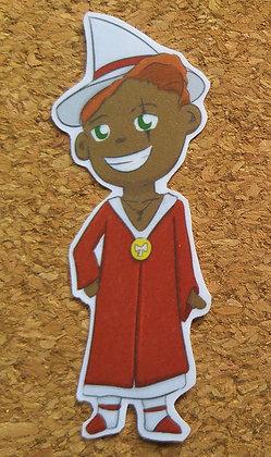 "Chibi Supoya ""Leek"" Starrain Sticker"