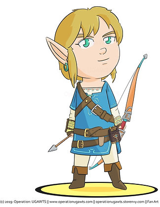 Chibi Legend of Zelda Character Prints