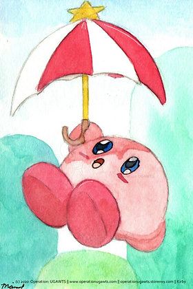 Parasol Kirby Print