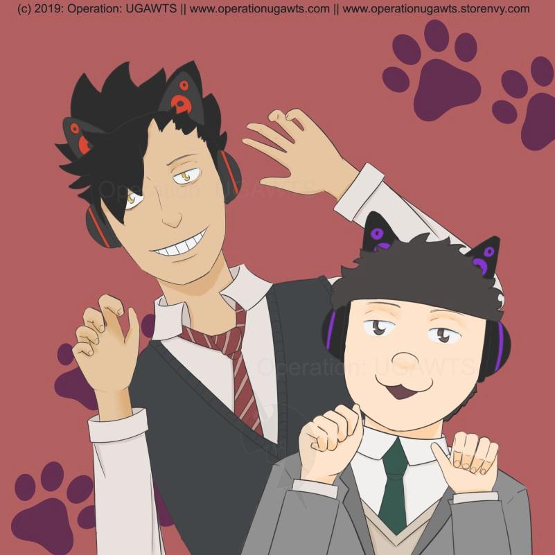 Kuroo and Ichimatsu