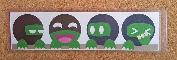 Ninja Turtles Bookmark