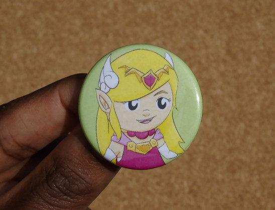 Chibi Legend of Zelda Character Buttons