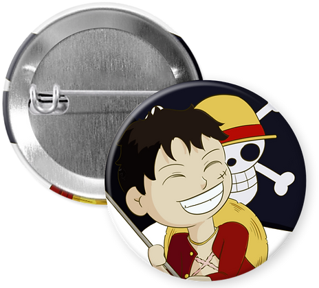 One Piece Chibi Buttons