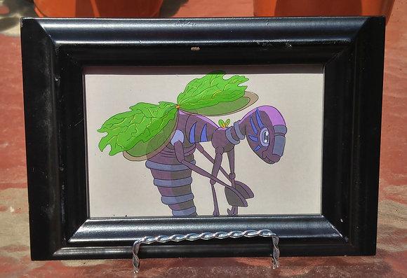 Wasp Monster Print