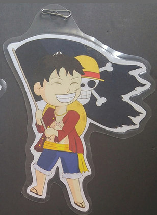 Chibi Monkey D. Luffy Paper Keychain