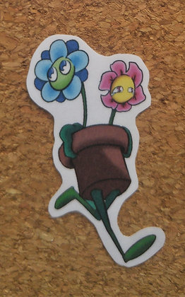 Flowers Retreat Sticker