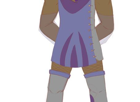 January Check-In; Princess Paeosfu WIP