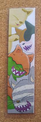 Monster Cat Bookmark