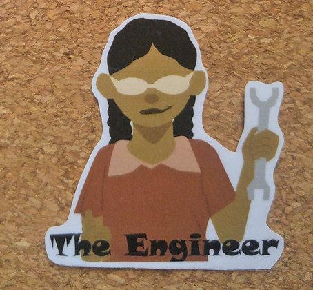 The Engineer Sticker