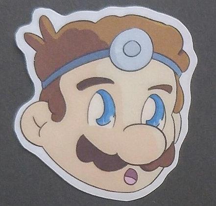 Dr. Mario Sticker