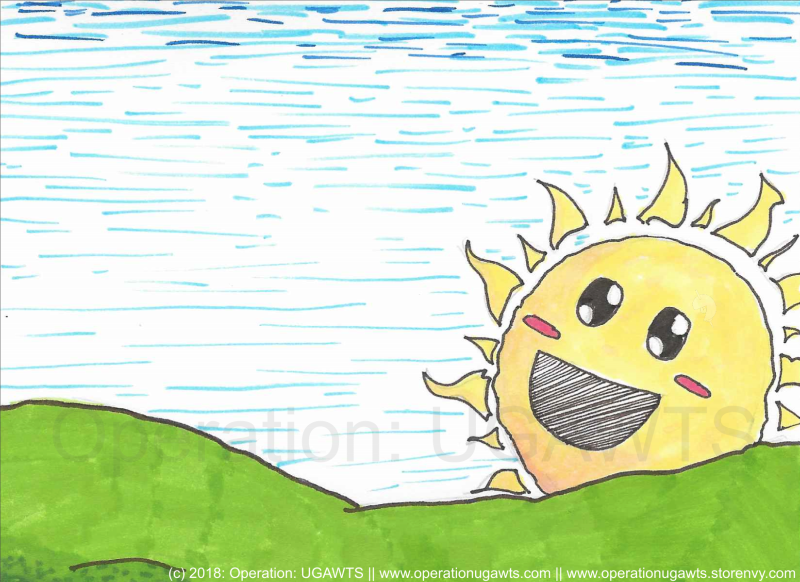 You're my sunshine~!