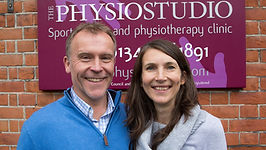 Mike and Rebecca Chisholm husband and wife physiotherapists