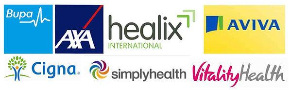 INSURANCE cigna bupa AXA PPP vitality healix simply health invoice healthcode