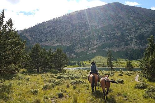 Full Day Trail Ride - Pecos Baldy Lake