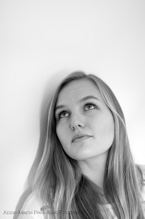 Vita zwart wit portret Utrecht