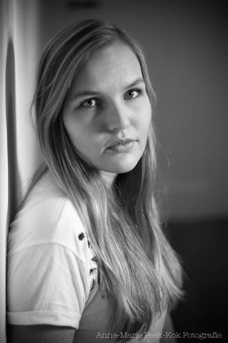 Zwart wit Portret Maarssen