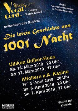 01001 Nacht - Flyer