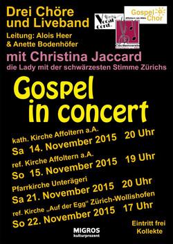 Gospel-Plakat