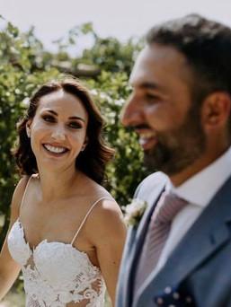 Happy Bridal Couple
