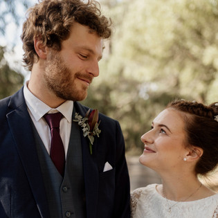 Bridal Couple from Yarra Ranges Estate