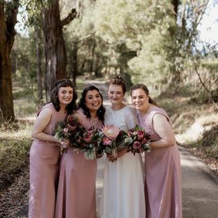 Yarra Ranges Estate Bridal Party